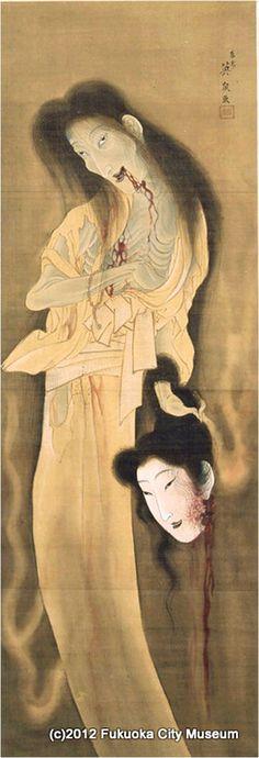 『幽霊図』(渓斎英泉 画)