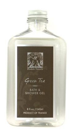 Pre de Provence Bath and Shower Gel, Green Tea, « Holiday Adds