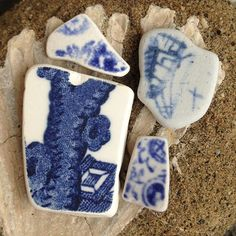Day 5: Sea pottery. I don't find many of this type of sea pottery on my beach. #beachphotochallenge hosted by the talented @juniperaveryseaglass #seaglass #seapottery #fossil #beach