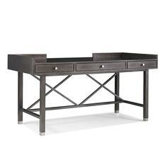 Skyloft Desk / Console | Hickory White 653-32 Hickory White, Walnut Veneer, Fine Furniture, Drafting Desk, Console, Wood, Home Decor, Decoration Home, Nice Furniture