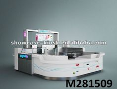 6x3 meter coffee kiosk, cafe station design with led lights and coffee makers for sale