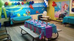 Jump2It:  Little Mermaid  themed birthday party