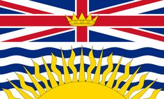 British Columbia is the westernmost province of Canada. In it became the sixth province of Canada. British Columbia is also a component of the Pacific Northwest, along with the US states of Oregon and Washington. Canadian Provincial Flags, Canadian Flags, British Columbia Flag, Montreal, World Geography Games, Vancouver, Colombia Flag, Flag Shop, Flag Coloring Pages