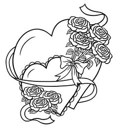 Embroidery Pattern Hearts