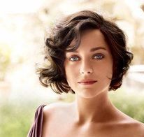 french vintage curly bob