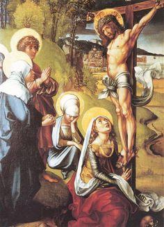 DURERO. Cristo en la cruz. 1497.