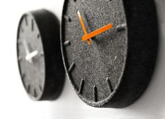 Wow! Nice Felt Clocks.