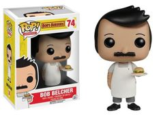 Funko POP! Animation Bob's Burgers Bob Vinyl Action Figure 74
