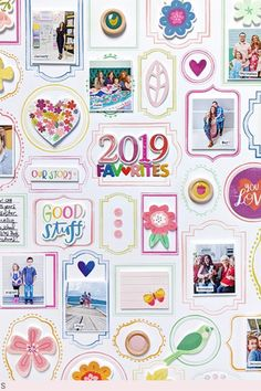 We're starting off the new year right with the most perfect @paigetaylorevans layout! We love her 2019 favorites! #pinkpaislee #pptrulygrateful #scrapbooking #papercrafting #layout