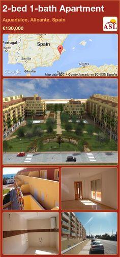 2-bed 1-bath Apartment in Aguadulce, Alicante, Spain ►€130,000 #PropertyForSaleInSpain