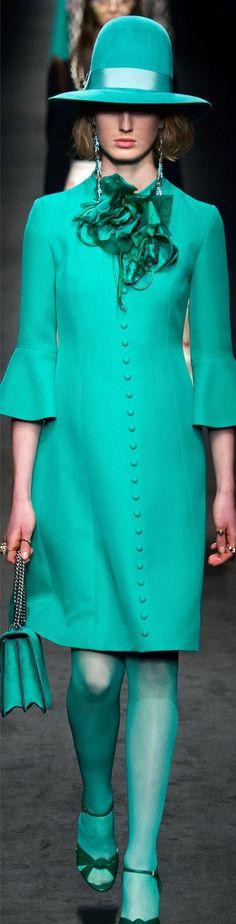 Gucci Fall 2016 Fashion Show Details