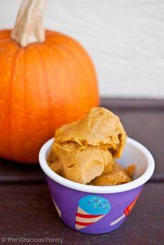Clean Eating Pumpkin Ice Cream