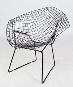 """Diamond Chair"", Harry Bertoia"
