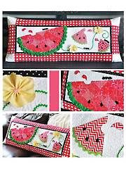 Slice of Summer Bench Pillow Sewing Pattern from AnniesCraftStore.com. Order here: https://www.anniescatalog.com/detail.html?prod_id=123611&cat_id=1695