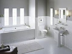 white subway tiles in bathroom - Google Search