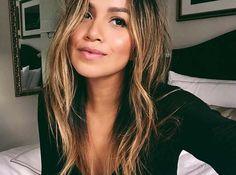Móda Blogeři a to dívky s BALAYAGE Hair: Julie Sarinana