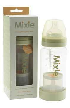 BEST BOTTLES FOR TRAVEL!!   Mixie Baby Formula Mixing Baby Bottle available at #Nordstrom