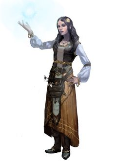 sorceress, bard