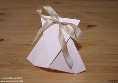 Stempelmami: Anleitung / Tutorial Geschenktüte - Origami-Falt-Verpackung (DIamond Fold ?)