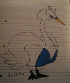Old drawings - Swanna by Gardevoir10.deviantart.com on @DeviantArt