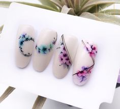"Discover more details on ""top nail art designs Visit our web site. Japan Nail Art, Water Color Nails, Gel Nail Art Designs, Nailart, Nail Time, Fabulous Nails, Flower Nails, Creative Nails, 3d Nails"