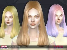 21 colors  Found in TSR Category 'Sims 4 Female Hairstyles'