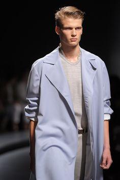 Ermenegildo Zegna Spring 2014 Menswear Fashion Show Details