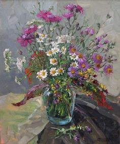 Bouquet country by Sergei Filitov