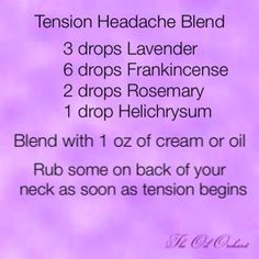 Tension Headache Blend