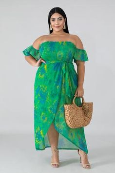 Plus Dress – Page 3 – GitiOnline Plus Size Beach Outfits, Plus Size Summer Dresses, Plus Size Maxi Dresses, Plus Size Dresses To Wear To A Wedding, Curvy Fashion, Plus Size Fashion, Moda Xl, Plus Sise, Look Plus Size