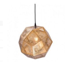 Bald Ceiling Lamp Gold - Zuo Modern chic the Bald ceiling lamp will create style and drama with thin sheets of perforated gold metal mesh encapsulated a single light with elegant style. Gold finish to electroplated metal. Bulbs not included. Mini Pendant Lights, Modern Pendant Light, Pendant Lamp, Pendant Lighting, Globe Pendant, Gold Ceiling, Metal Ceiling, Ceiling Lights, Classic Ceiling