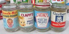 glass baby food jars with metal lids