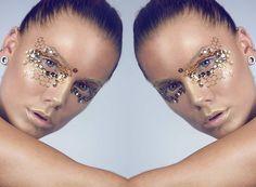 Makeup Tips, Eye Makeup, Fantasy Make Up, Linda Hallberg, Pat Mcgrath, Makeup Inspiration, Foundation, Mac, Instagram Posts