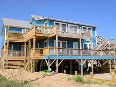 Kitty Hawk Vacation Rental - VRBO 3869487ha - 5 BR Northern Coast & Outer Banks House in NC, Ocean Views - Private Beach Access - Prvate Beach Cabana - Hot Tub