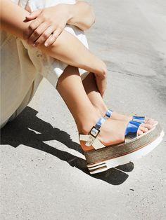 Destroy Mellow Flatform Sandal at Free People Clothing Boutique