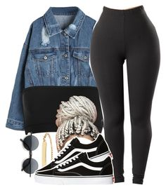 """2/28/18"" by melaninpopping ❤ liked on Polyvore featuring A.P.C. and Vans"