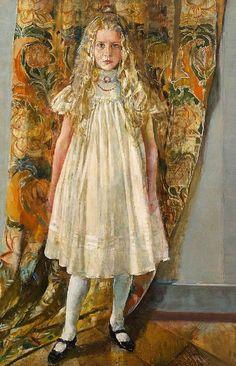 Portrait of Ellen Hvide Bang', 1899 , Christian Krohg (1852–1925).