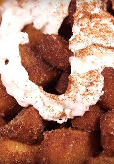 Here's how to make a deep fried Pumpkin Spice Latte