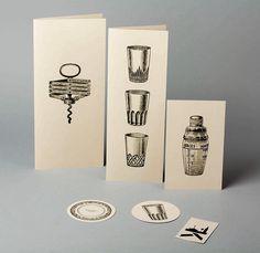 Cafe Kafka menu design by Lo Siento.