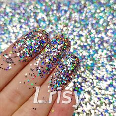 These cosmetic grade holographic glitter are ultra-thin and have a chameleon like effect in that their colors seem to change as you look at them from at different angles and in background color. Selling bulk poly glitter, and offer wholesale. Glitter Slime, Holographic Glitter, Cosmetic Grade Glitter, Hair Decorations, Hexagon Shape, Chameleon, Nail Arts, Silver Glitter, Resin Art