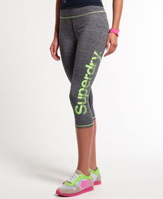 SUPERDRY: Gym Running Capri Leggings Buy Now $39.5 Find at Faearch