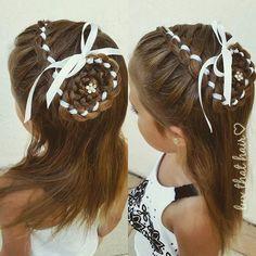 """""""#littlegirlhairstyles #braids #braidsforlittlegirls #4strandbraid #flower #flowerbraid #preschoolhair #preschool #vpk"""" Photo taken by @luv_that_hair on Instagram, pinned via the InstaPin iOS App! http://www.instapinapp.com (09/09/2015)"""