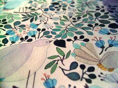 Forest Cuckoo (detail) | Anna Emilia Laitinen | Buy Some Damn Art