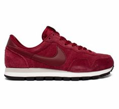 10f48a23eb19 Buy Nike Air Pegasus 1983 Suede running shoes in Team Red Team  Red-Mortar-Black. Consortium