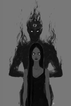 Темные силы поглощают тебя