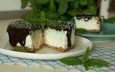 Cheesecake cocco e menta