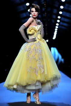dior couture.  i would SO get married in this!