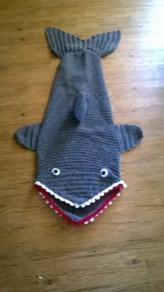 Crochet Shark Blanket - find free patterns on our site