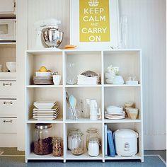 shelf in kitchen :)