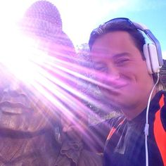 #Rion #DeRouen  #Violet #Rays #Ultra #Sun #BURSTING  #Buddha #Face #Statue  <3 #Sup